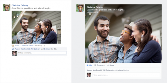 Facebook reveals news feed update